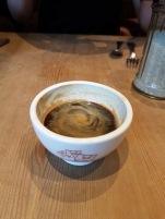 Espresso in a bowl