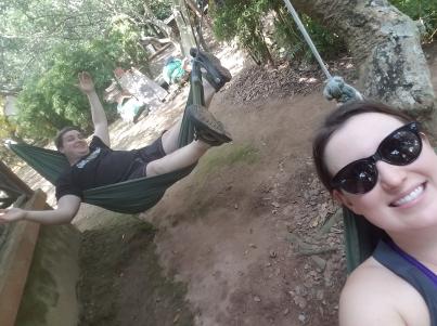 Hammock selfie.