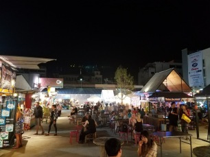 This part of the market had a bunch of delicious looking food stalls. Too bad we're scarred for life from Koh Lanta!