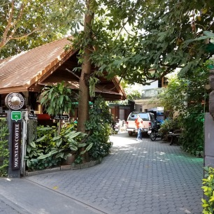 Mountain Coffee, our favorite spot in Chiang Mai!