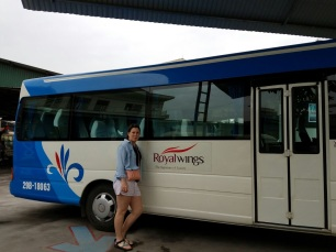 Our bus to Ha Long City