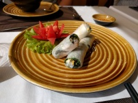 Lunch appetizer - Ha Noi style spring rolls