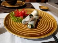 Lunch appetizer - Ha Noi style spring rolls