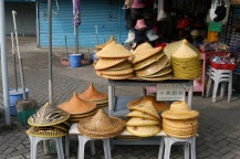 Rice hats!