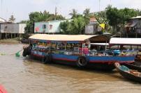 The floating fruit market.