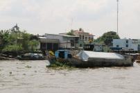 Floating markets.