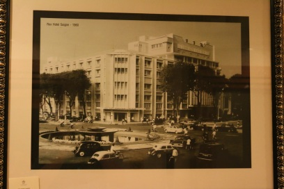 Old picture of the hotel