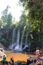 Gorgeous paradise waterfall