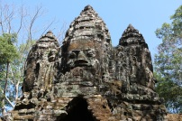 These were built by elephant - the carvings are incredible