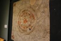 A Buddhist yantra cloth.