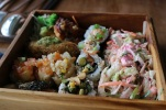 This Japanese/Latin fusion bento box situation was everything.