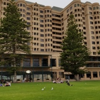 The Stamford Grand Adelaide hotel was very nice!