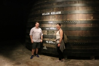 Helen Keller actually visited and correctly calculated the volume of this barrel, so they named it after her.
