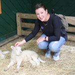 The little lambs were so soft!
