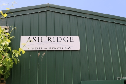 Ash Ridge Winery, our first stop.